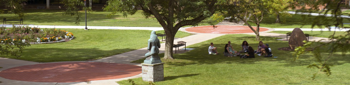 Academic Quad at Utica College